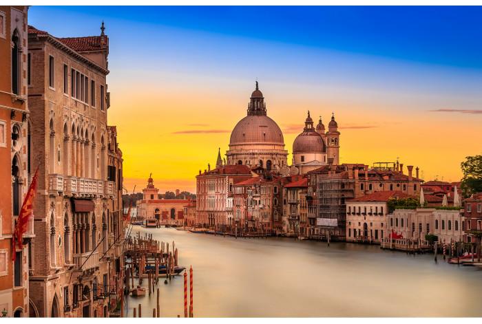 Модульная картина Венеция закат